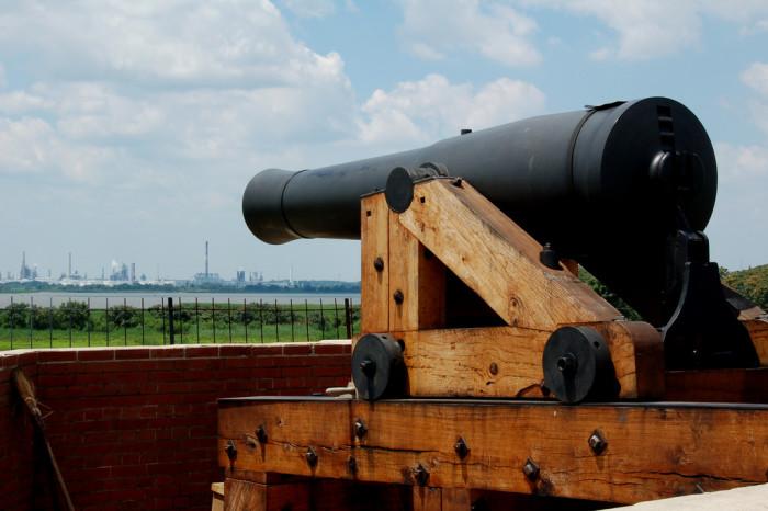 6. Fort Delaware State Park, Delaware City