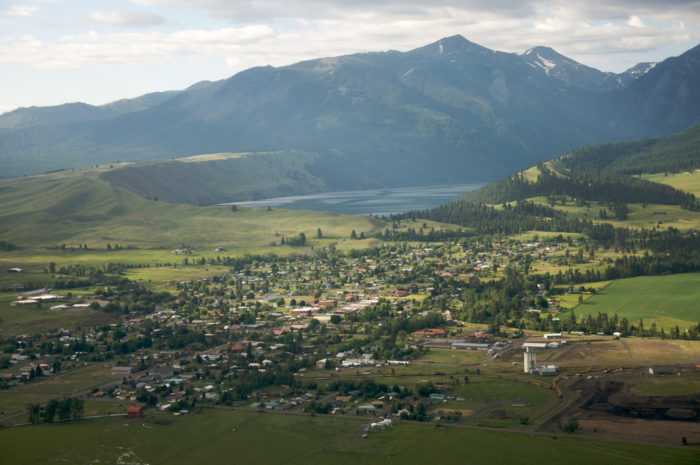 This lovely town is nestled into the Wallowa Mountains.