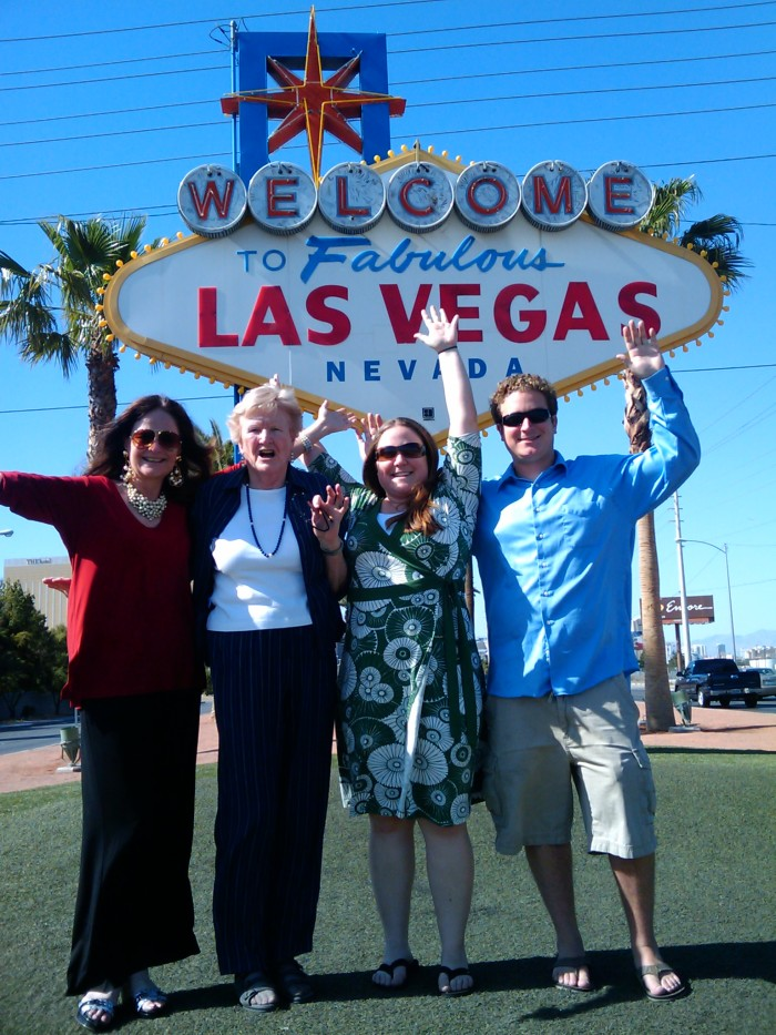 """1. Tourists are often spotted while having their photo taken in front of the famous """"Welcome to Fabulous Las Vegas Nevada"""" sign."""