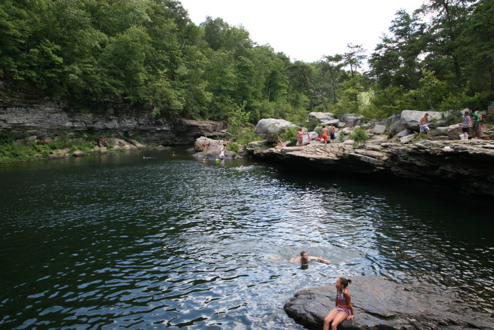 5. Take a dip into the Hippie Hole at Little River Canyon National Preserve.
