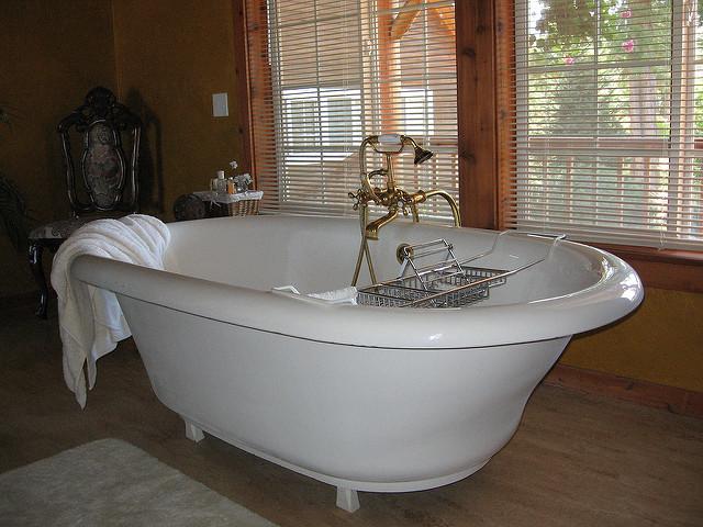 2. No singing in the bathtub.