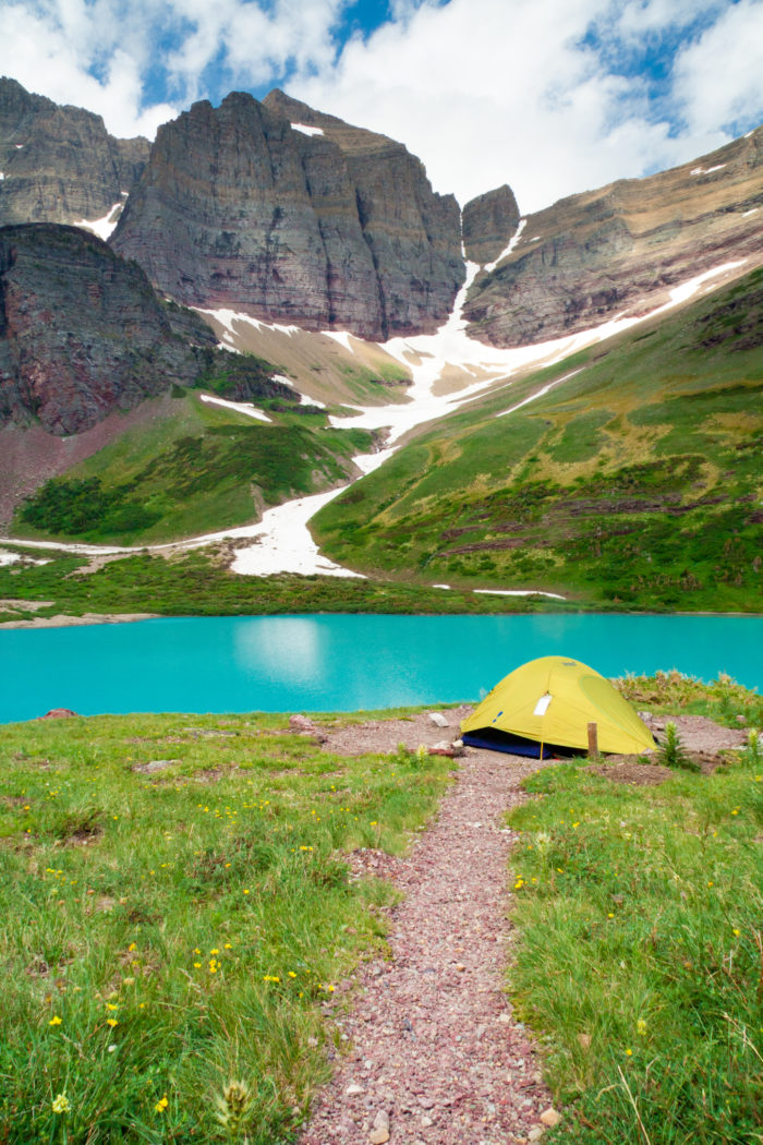 Montana: Cracker Lake, Glacier National Park