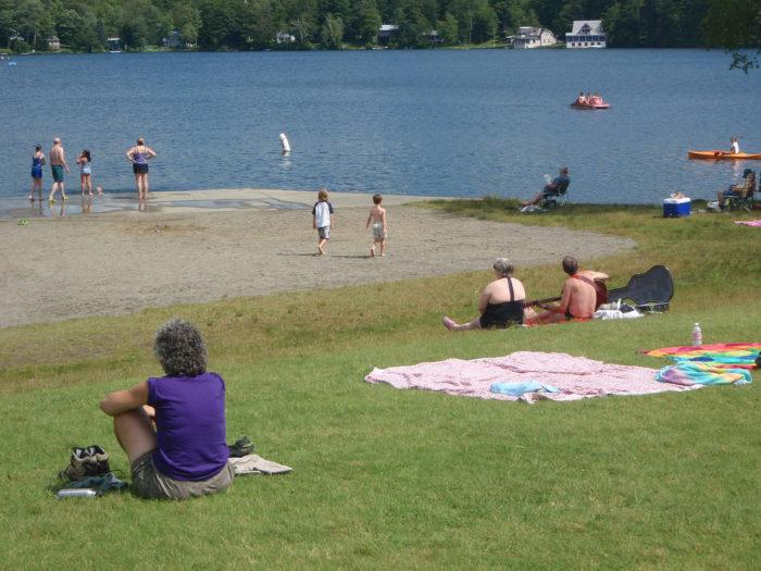 Or Silver Lake in Barnard.