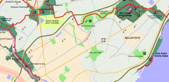 3. Northern Delaware Greenway, Wilmington