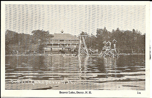 5. Beaver Lake in Derry was a popular swimming spot in the early 1900s.