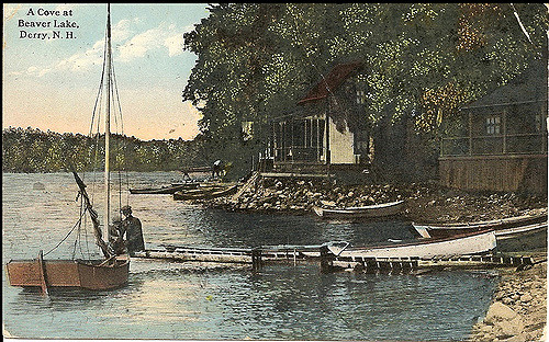 8. New Hampshire activities – swimming and boating – haven't changed much in the past century.