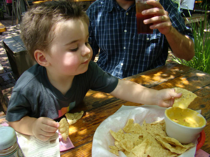 4. Queso, AKA melted cheese goodness, goes on and with everything...Also appropriate for Austinites of ALL ages!