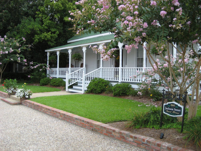 Spend the night at Jackson St. Guest House.