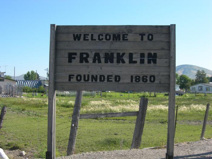 Franklin Idaho history