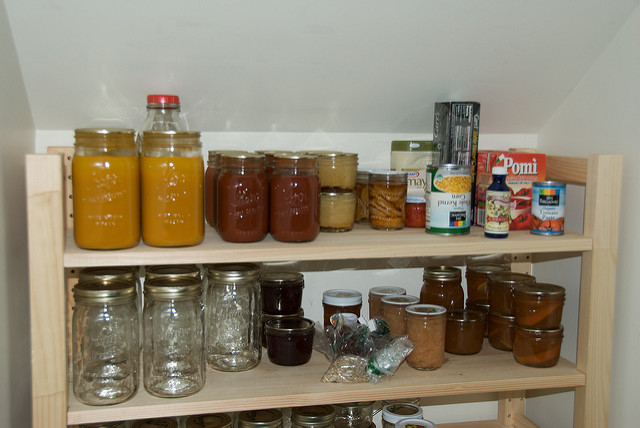 6. Food storage. Probably with homemade jams.