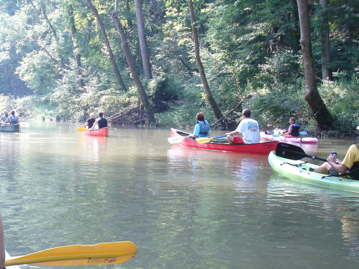 canoes blue river indiana