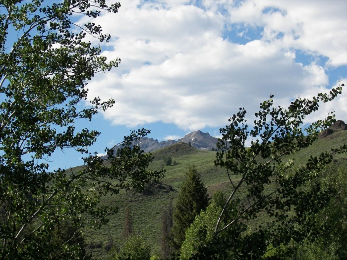 Boulder White Clouds, Challis