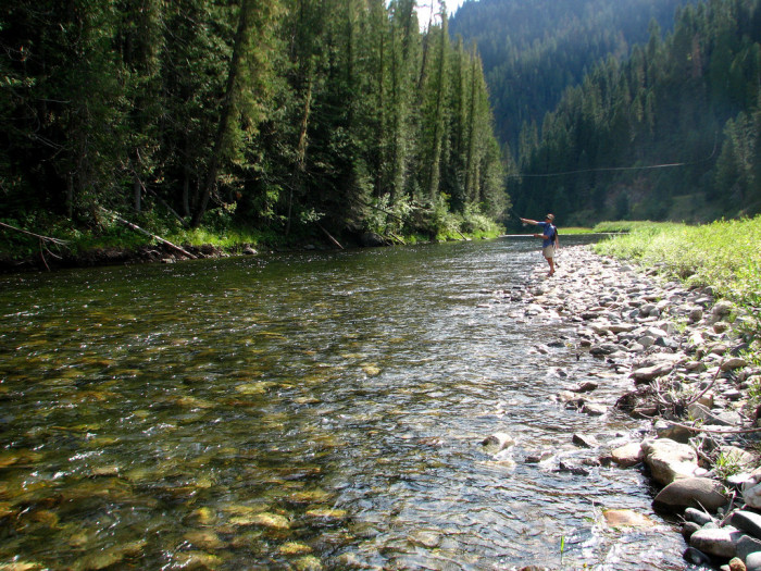 7 of the most charming river towns in idaho for Fly fishing boise idaho