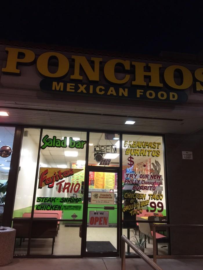 3.  Poncho's, Tucson, AZ