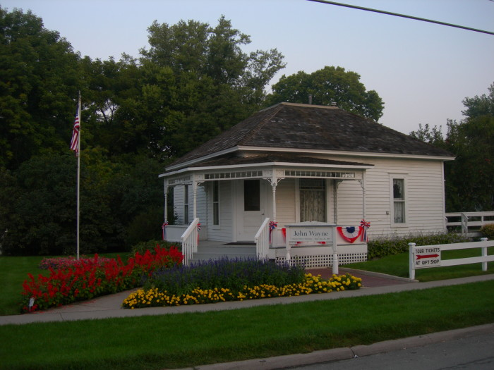 4. Or explore the history of famous and influential Iowans