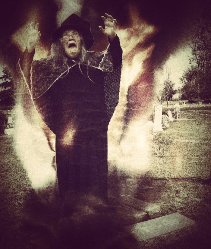 4. The Witch of Yazoo's Grave at Glenwood Cemetery, Yazoo City