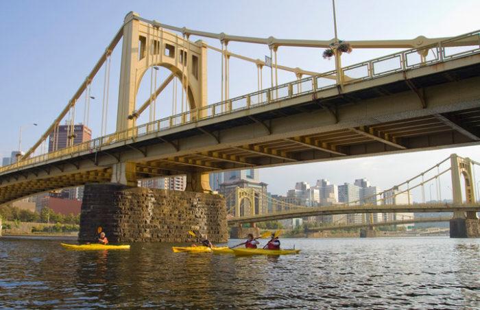 4. Kayak the Three Rivers.