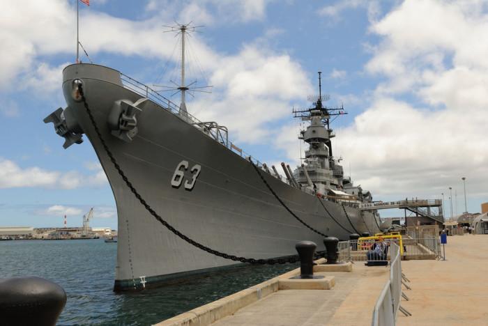 4. Battleship Missouri