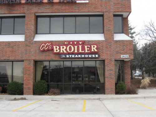 4.Highest rated restaurant in Columbia:  CC's City Broiler