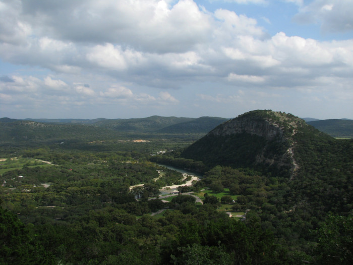 12. Catch that view of the most beautiful parts of the Hill Country of Texas at Garner State Park.