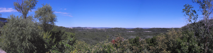 4. The Austin hillcountry's refreshing views of nature.