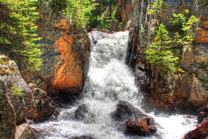 8. Cascade Falls in Indian Peaks Wilderness