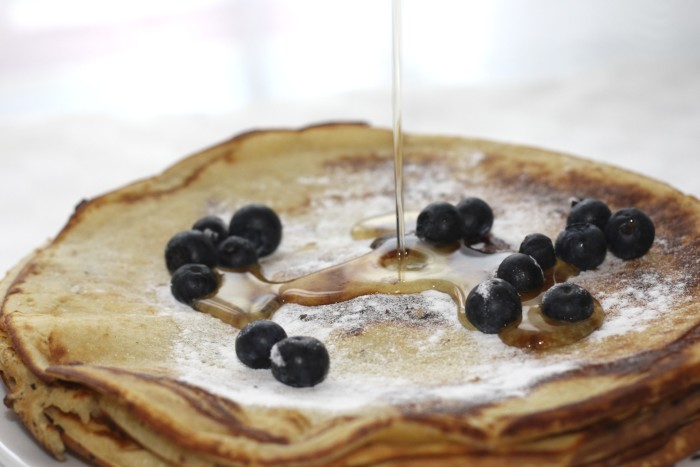 9. Pancakes with Highland County maple syrup