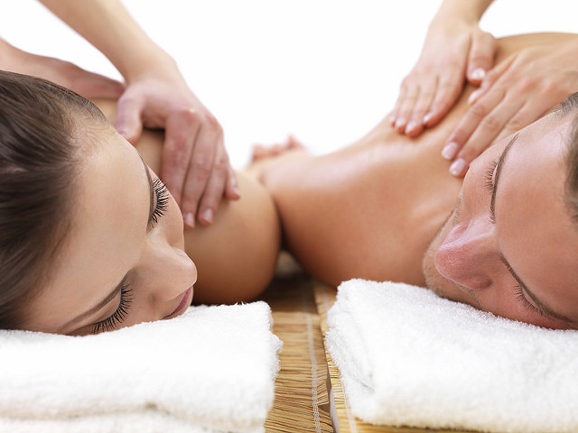2. Treat yourself and your S.O. to a couple's massage.
