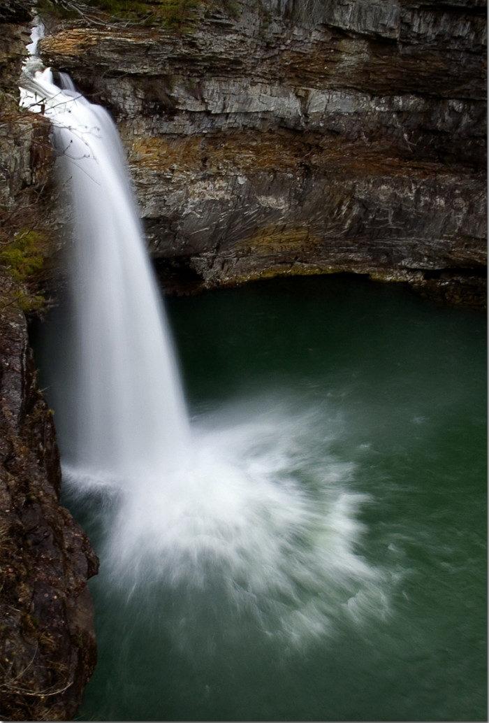 Upper DeSoto Falls, Alabama