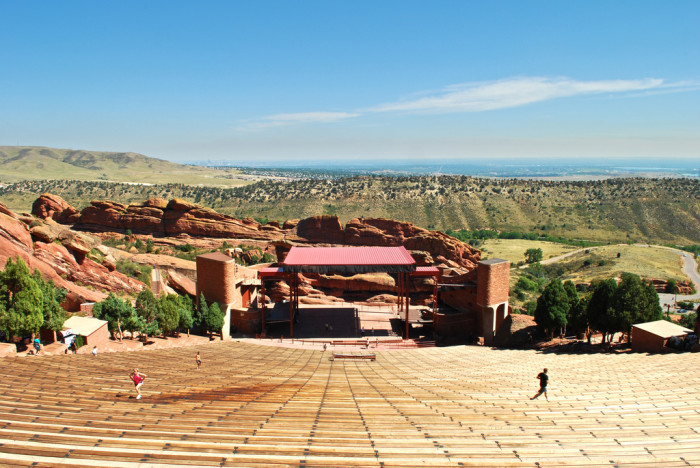 4.) Red Rocks Amphitheater...