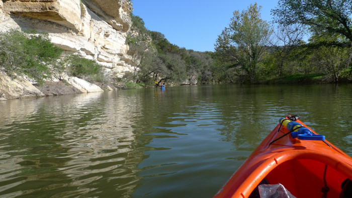 11. Nothin' quite like the views of Barton Creek from your own kayak!
