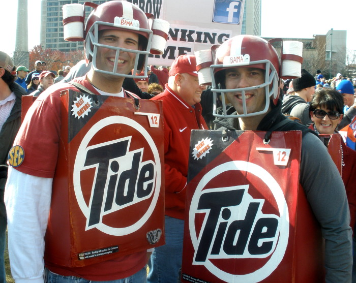 """10. If you walk past someone and holler """"Roll Tide!""""..."""