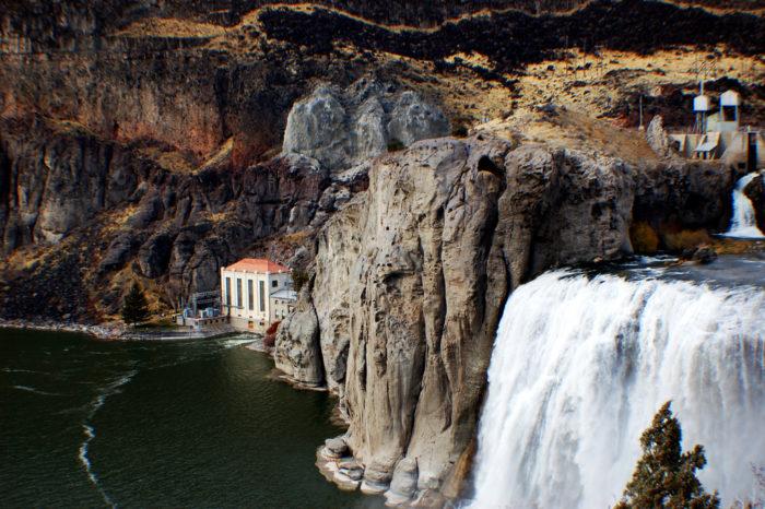 10. Shoshone Falls, Idaho