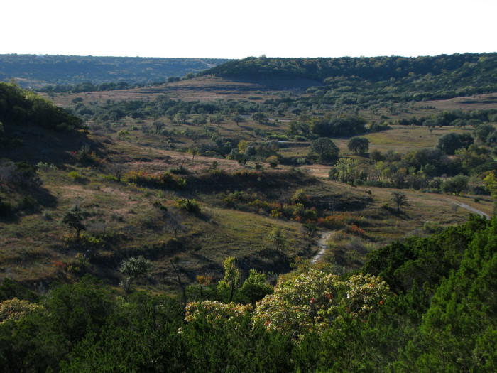7. The Rimrock Trail at Doeskin Ranch is part of the grand Balcones Canyonland Wildlife Preserve...Refreshing isn't it!