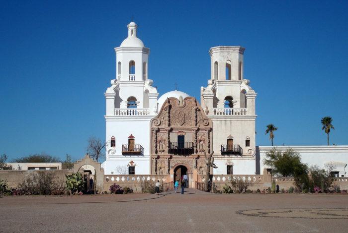 1. San Xavier del Bac, Tucson