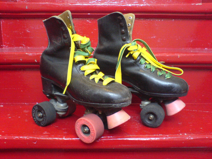 6. Relive the disco days, complete with strobe lights, at one of Iowa's retro roller rinks.