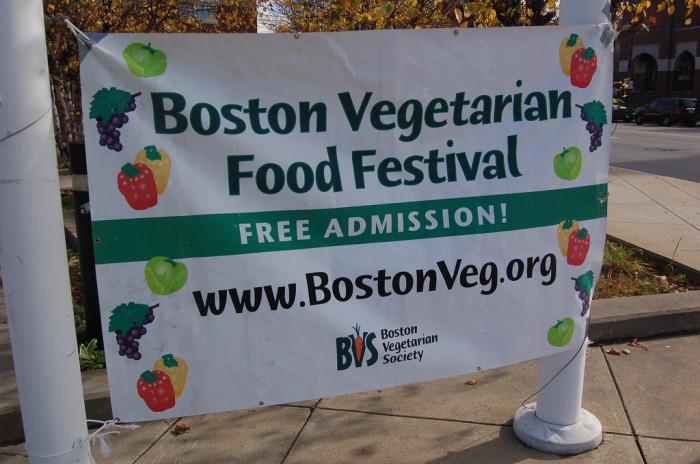 4. Annual Boston Vegetarian Food Festival