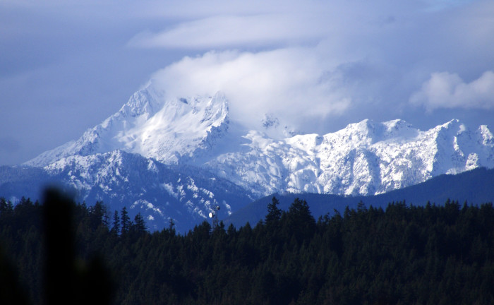 3. The Olympic Mountains formed over 30 million years ago.