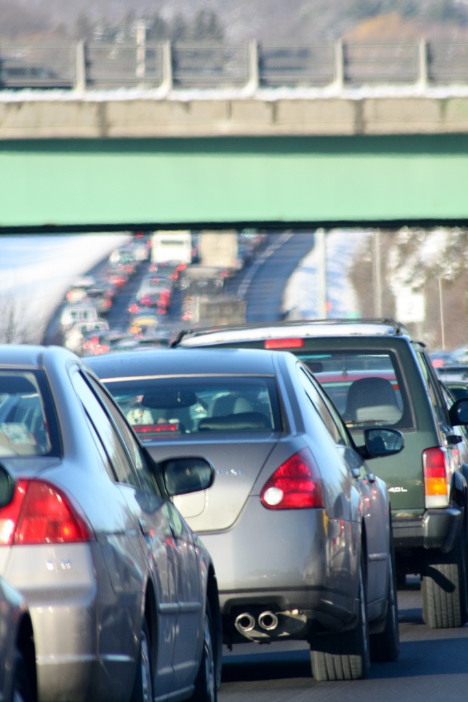 8. Traffic is just an unfortunate part of daily life when you live in such a densely populated state.