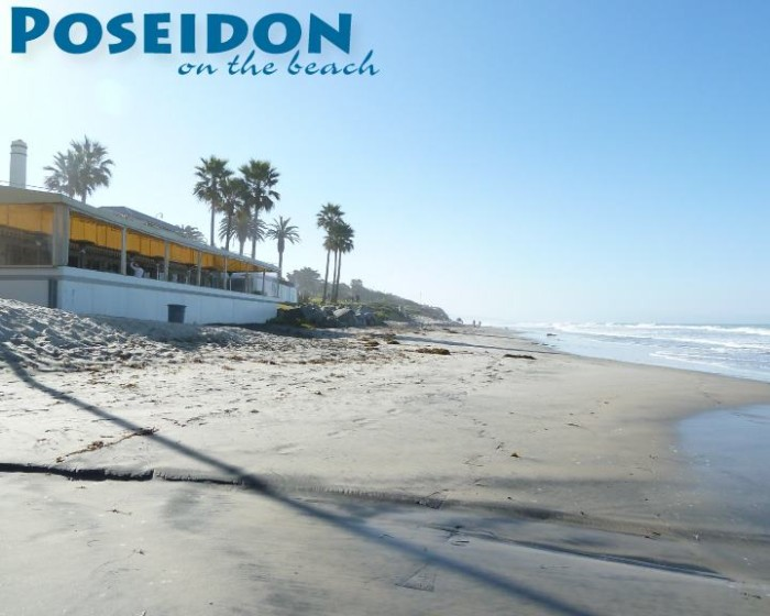 4. Poseidon Del Mar is oceanfront dining at its finest. You will enjoy the sound of crashing waves in the background while you dine at this award-winning restaurant that offers delicious steak and seafood.