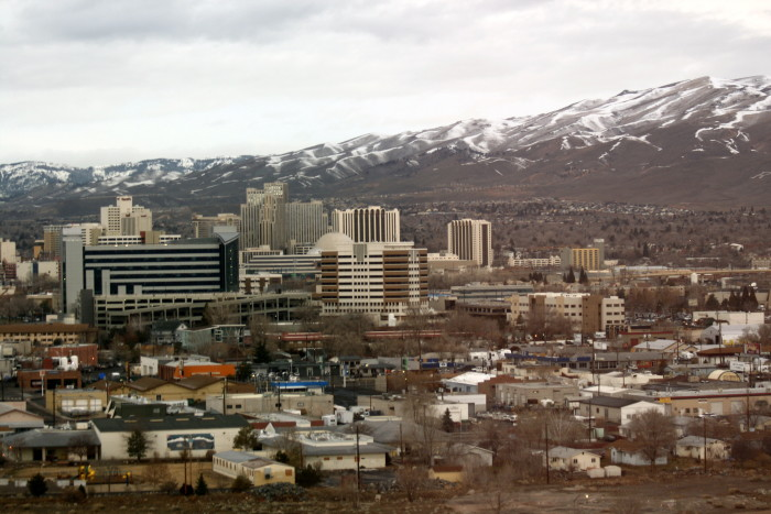 8. ...large cities scattered throughout Nevada.