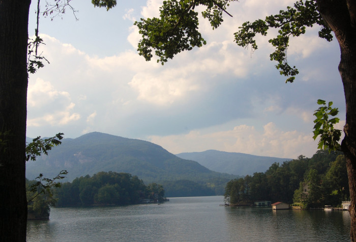 8. Recreate that iconic Dirty Dancing scene at Lake Lure.