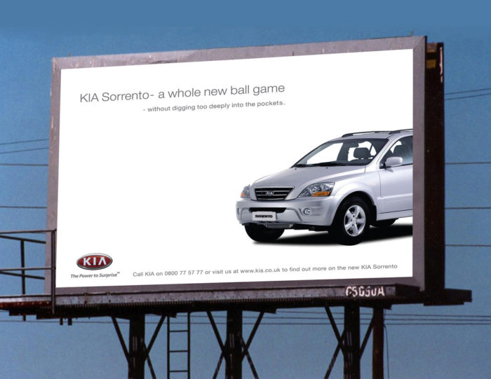 4. The very first Kia manufactured car...