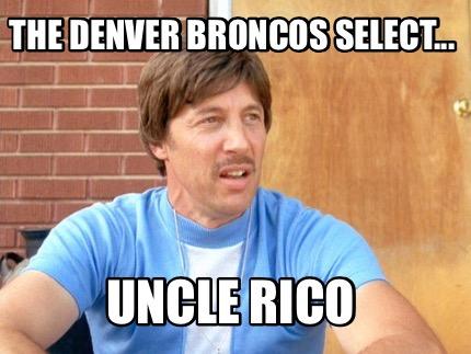 7.) This makes more sense than Mark Sanchez!