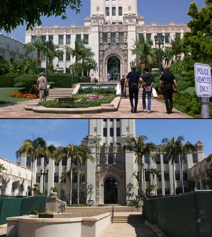 """5. It may be a no-brainer that """"Beverly Hills Cop"""" was shot in Beverly Hills. What  you may not know is that the police station in the movie isn't the actual Beverly Hills police station -- it's the building for Beverly Hills City Hall."""