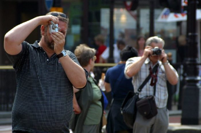 9. They spend far more time looking at things through their phones or cameras than they do looking at things for real.