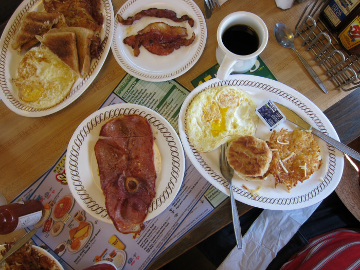 1. Start with a good Southern breakfast.