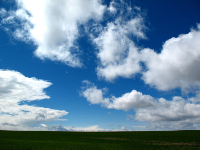 13. The wide open skies of the countryside