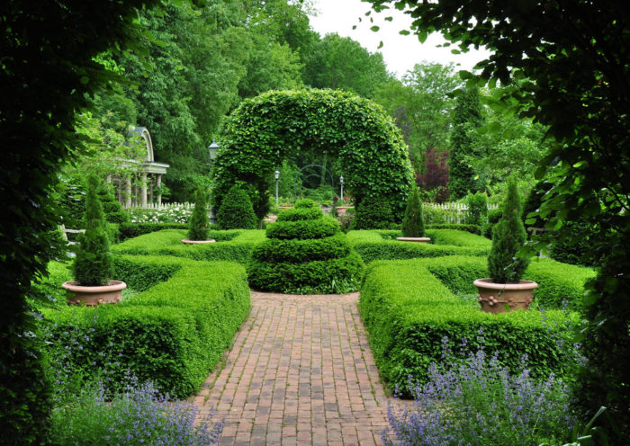 8. Stroll through an enchanted garden.