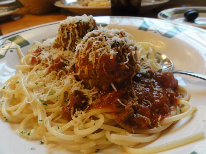 8. Spaghetti And Meatballs